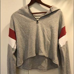 American Eagle cropped hoodie